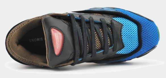 Raf Simons x Adidas Consortium Ozweego 2 черно-синие